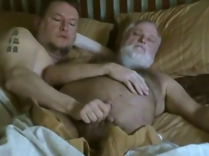 Bear, Blowjob, Gay, Mature, Small cock