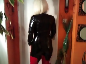 Amateur, Boots, Catsuit, Latex, Milf, Pvc, Rubber