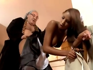 Anal, Babes, French, Interracial, Old man