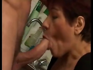 Blowjob, Cumshots, First time, French, Mature