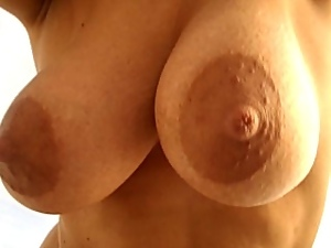 Amateur, Beach, Nipples, Wife