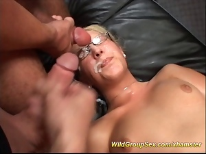 Bukkake, Gangbang, German, Party, Teens
