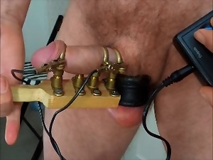 Bdsm, Dick, Electrified, Gay, Sex toys, Torture