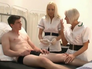Dick, Handjob, Hospital, Nurse, Wanking