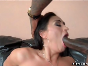 Bbc, Big cock, Black, Brunettes, Classy, Cocksucking, Huge, Interracial, Lingerie, Milf, Monster cock, Pumped