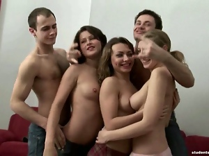 Amazing, Blowjob, Chick, Club, Drunk, Fucking, Funny, Group sex, Teens