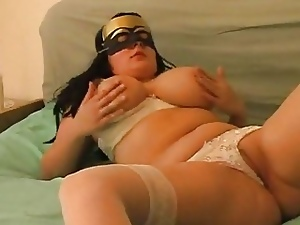 Bbw, Big tits, Stockings, Swedish