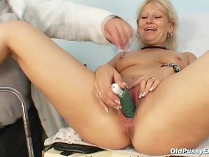 Bitch, Dirty, Doctor, Fingering, Granny, Gyno exam, Hospital, Kinky, Mature, Speculum