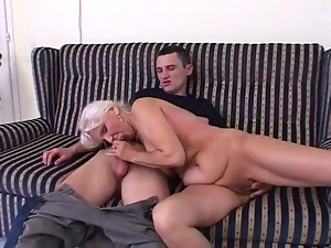 Blondes, Blowjob, Fucking, Granny, Mature, Satin