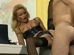 Boss, Lady, Lingerie, Office, Stockings