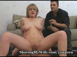 Crazy, Cuckold, Dick, Milf, Pussy, Riding, Wife