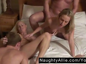 Amateur, Bedroom, Blondes, Group sex, Homemade, Orgy, Swingers