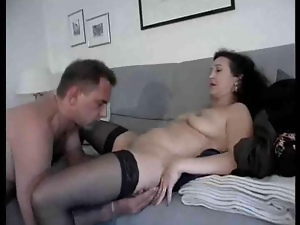 Bitch, Mature, Stockings
