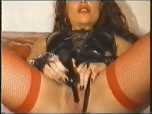 Bizarre, Fetish, Fishnet, Latex, Sex toys, Sexy
