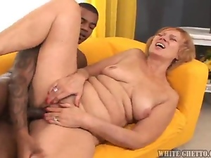 Banging, Ghetto, Granny, Interracial, Mature, White