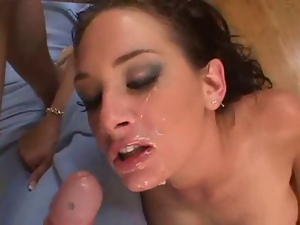 Brunettes, Dick, Facials, Hardcore, Milf, Sexy, Spit, Throat