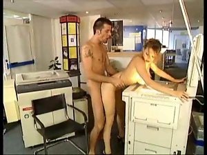 Blondes, Boobs, Fondling, Huge, Milf, Office, Riding, White