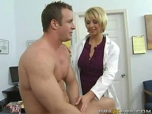 Ball licking, Funny, Hospital, Licking, Nurse, Sexy