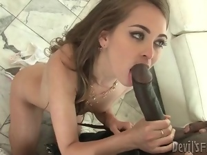 Black, Blowjob, Dick, Huge, Interracial, Monster cock, Sucking