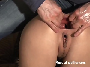 Anal, Asshole, Fetish, Fisting, Gaping hole, Girlfriend, Monster