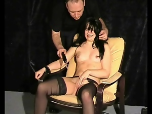 Bdsm, Bondage, Bound, Cute, Electrified, Pain, Pussy, Stockings
