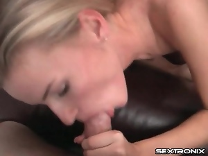 Blowjob, Dick, On her knees, Pov, Skinny, Sucking