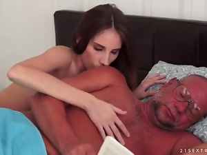 Blowjob, Old, Old and young, Sexy, Teens