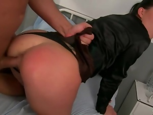 Cfnm, Clothed sex, Fucking, Hardcore, Panties, Ponytail, Pretty