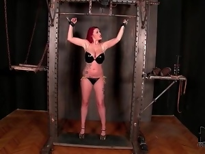 Bdsm, Big tits, Bikini, Bondage, Bound, Latex