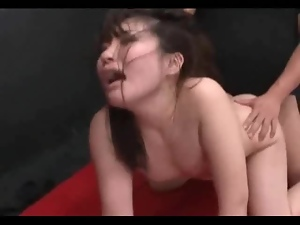 Asian, Creampie, Double penetration, Fucking, Japanese, Rough