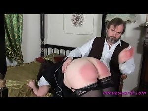 Ass, Bbw, Fat, French, Maid, Spanking