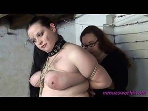 Basement, Bbw, Bdsm, Bondage, Chick, Fat, Funny
