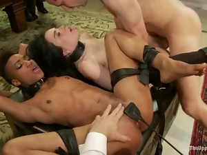 Anal, Bdsm, Chick, Fetish, Pain, Sex toys, Spanking