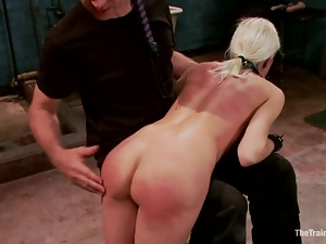 Bdsm, Blondes, Busty, Collar, Cowgirl, Dick, Fetish, Riding, Spanking