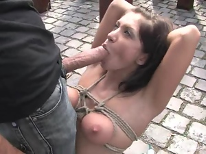 Bdsm, Beautiful, Bondage, Fetish, Fucking, Gorgeous, Hogtied, Humiliation, Outdoor, Slave