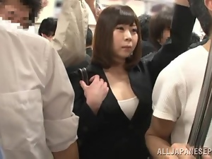 Asian, Bus, Busty, Cunt, Fucking, Japanese, Milf, Public, Reality