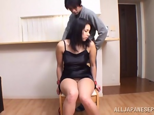 Asian, Bondage, Brunettes, Chick, Couple, Game, Gorgeous, Japanese, Reality