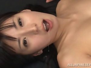 Asian, Babes, Brunettes, Close up, Couple, Cum in mouth, Cumshots, Facials, Hardcore, Japanese, Pounded, Swallow, Teacher, Teens