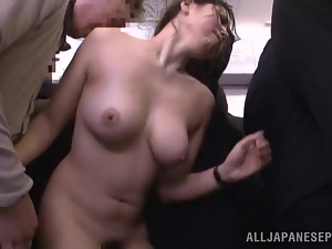 Asian, Big tits, Bus, Fingering, Hardcore, Japanese, Licking, Milf, Natural boobs, Public, Pussy