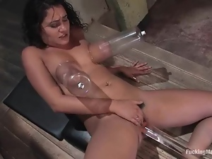 Bdsm, Fetish, Machine sex, Orgasm, Pumped, Pussy, Tits