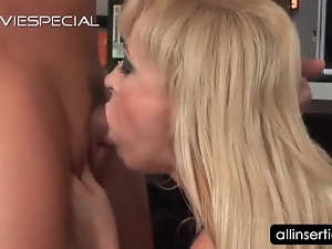 Blondes, Blowjob, Couple, Deepthroat, Dick, Dildo, Hardcore, Insertions, Masturbating, Mature, Milf, On her knees, Sex toys