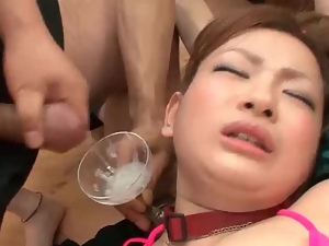 Amateur, Asian, Cute, Gangbang, Group sex, Hardcore, Swallow