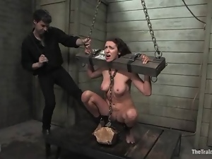 Bdsm, Chained, Slave, Spanking