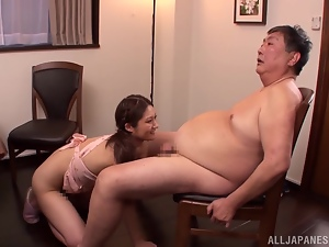Asian, Babes, Blowjob, Couple, Fat, Hardcore, Japanese, Old and young, Riding