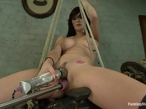 Bdsm, Curvy, Fetish, Fucking, Machine sex, Squirting, Wet