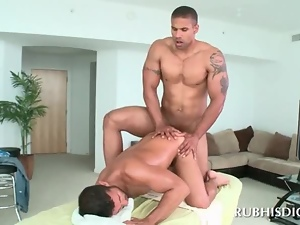 Ass, Gay, Massage, White