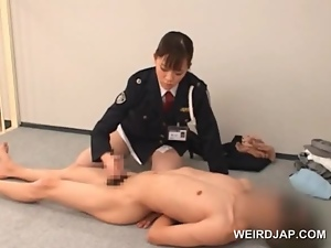 Amateur, Asian, Brunettes, Couple, Cunt, Handjob, Hardcore, Japanese, Licking, Police, Prison, Uniform, Wet