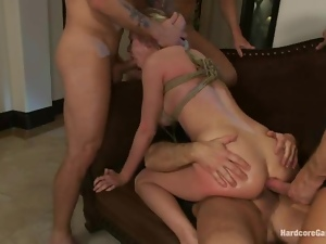 Bdsm, Blondes, Bondage, Chick, Domination, Gangbang, Rich, Torture