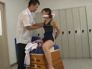 Asian, Bdsm, Bondage, Japanese, Schoolgirl uniform