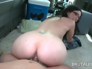 Amateur, Ass, Banging, Brunettes, Bus, Hardcore, Nude, Reality, Tattoo